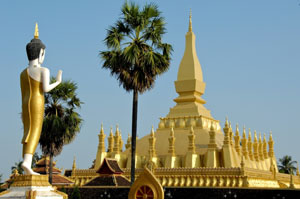 Voyages Laos, pha that luang, luang prabang