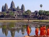 vacances cambodge, introduction du buddhisme au Cambodge