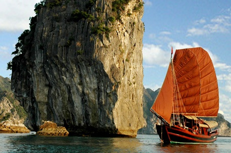 voyages vietnam authentique, baie d'halong