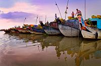 voyages vietnam cambodge: visite marche flottant can tho